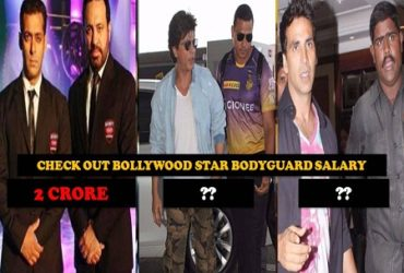Know Top Bollywood Actor Bodyguard Salary Will Surprised