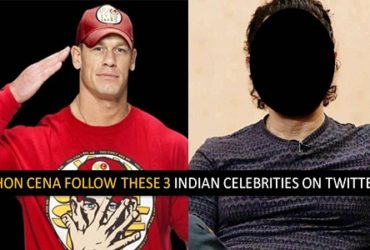 Jhon Cena Follow 3 Indian Celebrities Twitter