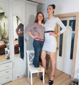 Meet World Tallest Woman