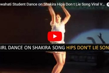 IIT Guwahati Girl Dance Shakira Hips Dont Lie Song