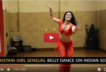 Pakistani Girl Sensual Belly Dance Indian Song